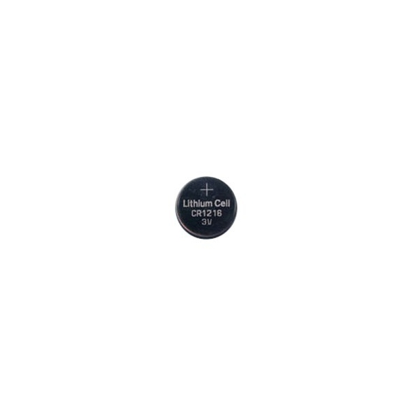 Lithium button cell battery CR1216 - 3V