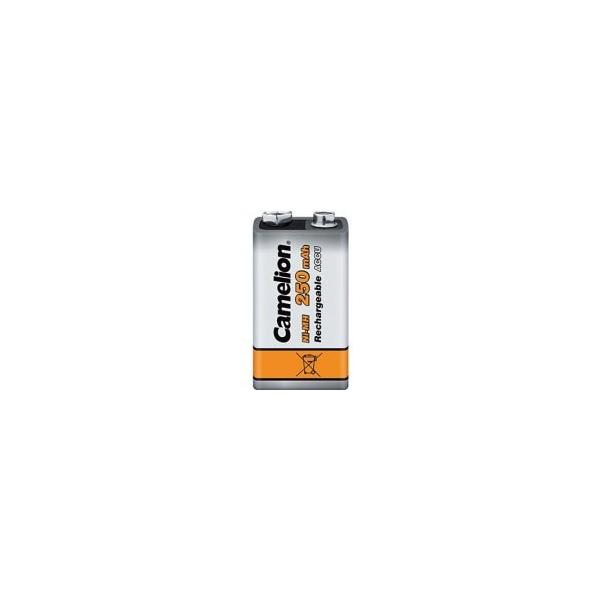NiMH battery 9V 250 mAh - 9V