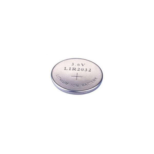 Button cell battery Li-Ion LIR 2032 - 3,6V