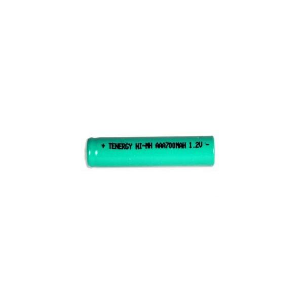 NiMH battery AAA 700 mAh flat head - 1,2V - Tenergy