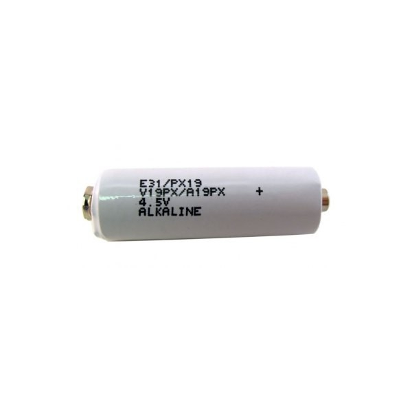 Alkaline battery 531 / PX19 / 3LR50 - with mini snap connectors - 4.5V - Exell