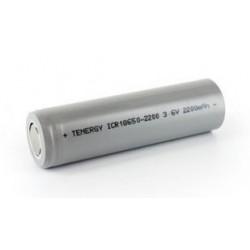 Battery Li-Ion 18650 - 3,6V - 2200 mAh