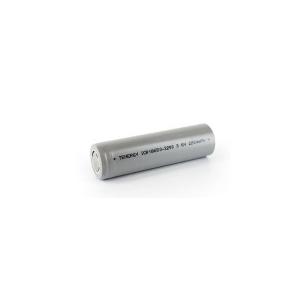 Battery Li-Ion 18650 - 3,6V - 2200 mAh