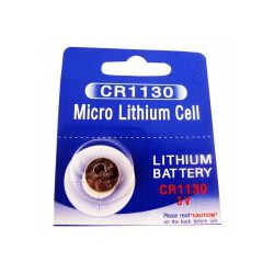 Lithium button cell battery CR1130 - 3V - Panasonic