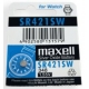 Button cell battery SR421 / 348 - 1,55V - silver oxyde - Maxell