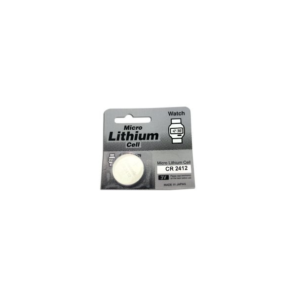 Pile bouton lithium CR2412- 3V - Panasonic