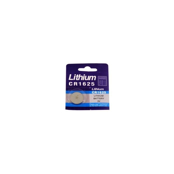 Lithium button cell battery CR1625 - 3V - Evergreen