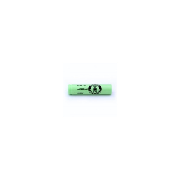 NiMH battery AAA 800 mAh flat head - 1,2V - Evergreen