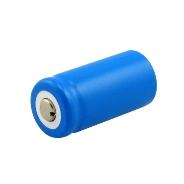 Battery Li-Ion RCR123A - 3 V - 600 mAh
