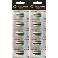 10 x Alkaline battery 4LR44 / 476A - 6V