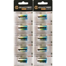 10 x Alkaline battery 4LR44 / A544 / PX28 - 6V Cellectron