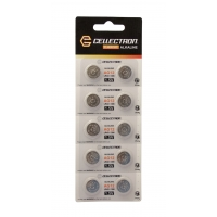 AG12 10 button cell battery AG12 / LR43 / 386 1,5V Cellectron