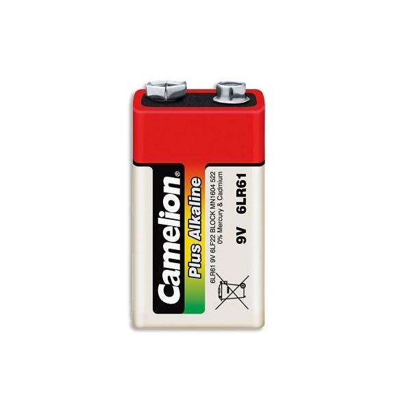 Alkaline battery 9V / 6LR61 - 9V