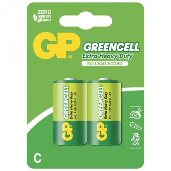 Extra heavy duty battery 2 X C / R14 - 1,5V