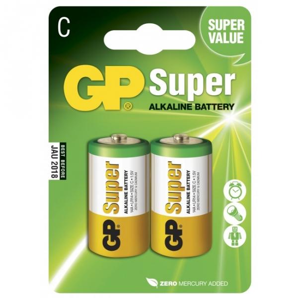 Alkaline battery 2 x C / LR14 - 1,5V - GP Battery