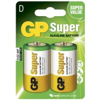 Alkaline battery 2 x D / LR20 - 1,5V - GP Battery