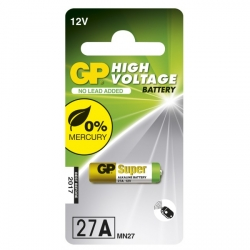 Alkaline battery 1 x 27A / MN27 - 12V - GP Battery