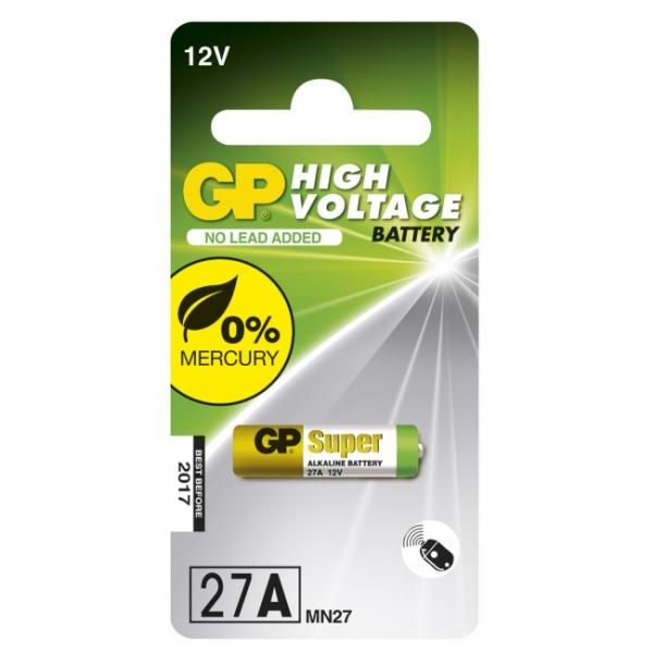 Alkaline battery 1 x 27A / MN27 - 12V - GP Battery