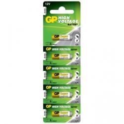 Alkaline battery 5 x 27A / MN27 - 12V - GP Battery