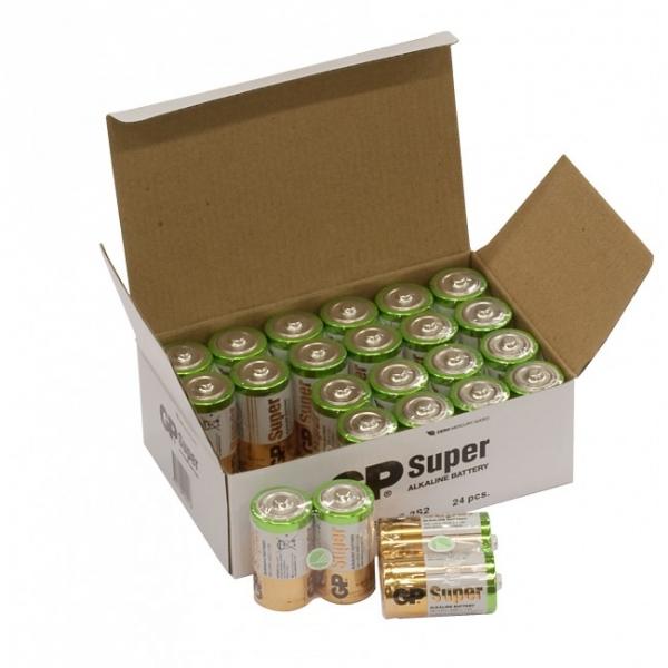 Alkaline battery 2 x C / LR14 SUPER - 1,5V - GP Battery