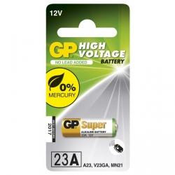 Alkaline cylindrical battery 1 x 23AE / MN21 / VA23GA - 12V - GP Battery