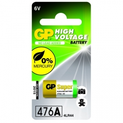 Alkaline battery 1 x GP 476A / 4LR44 / A544 / PX28A - 6V - GP Battery