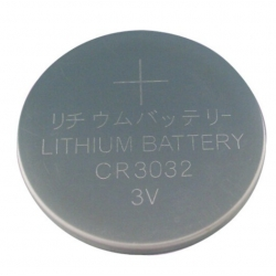 Lithium button cell battery CR3032 - 3V