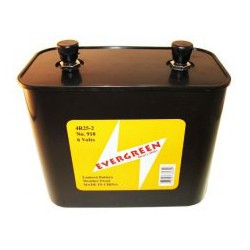 Alkaline battery 4LR25-2 - 6V - Evergreen