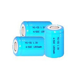 NiCD battery 4/5 A 1200 mAh flat head - 1,2V - Evergreen