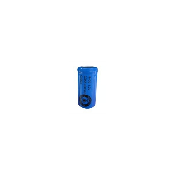 NiCD battery 2/3 AA 400 mAh flat head - 1,2V - Evergreen