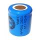NiCD battery 1/2 Sub C 700 mAh flat head - 1,2V - Evergreen