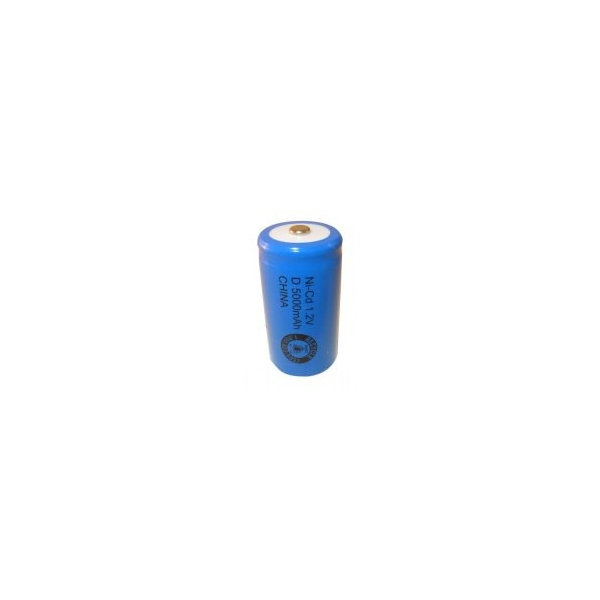 NiCD battery D 5000 mAh button top - 1,2V - Evergreen