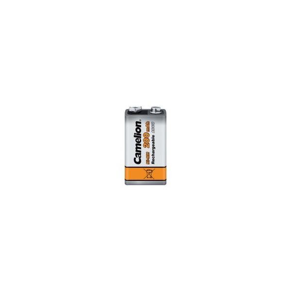 NiMH battery 9V 200 mAh - 9V