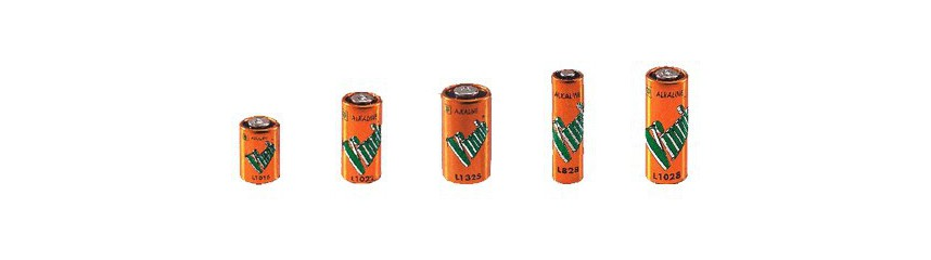 Other alkaline batteries (4LR44, 10 11 23 27A)