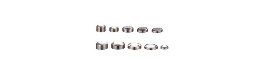 Button cell batteries 1,55V