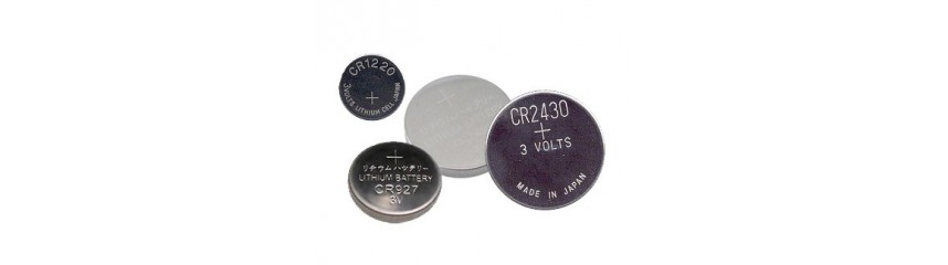 Lithium button cell batteries 3V - CR
