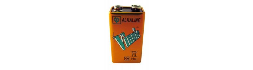 Alkaline batteries 6LR61 - 9V